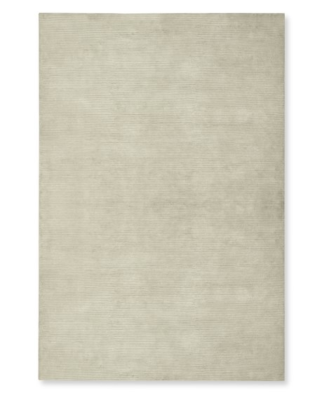 Textured Solid Rug, 9' X 12', Ivory