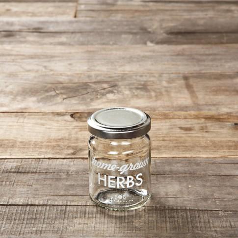 Preserving Herb Jars, Set of 4