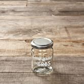 Preserving Herb Jars, Set of 4