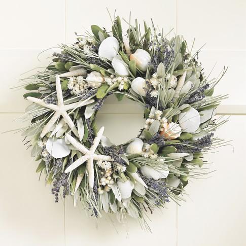 Seashell Wreath, 16