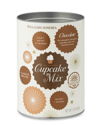Williams-Sonoma Cupcake Mix, Chocolate