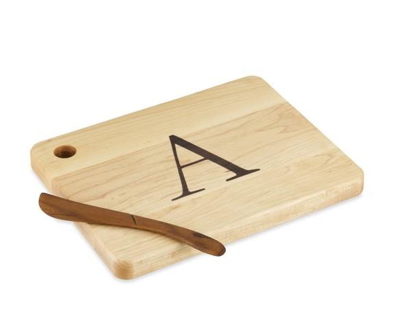Mini Monogram Board, A
