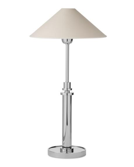 Bennett Adjustable Table Lamp, Polished Nickel