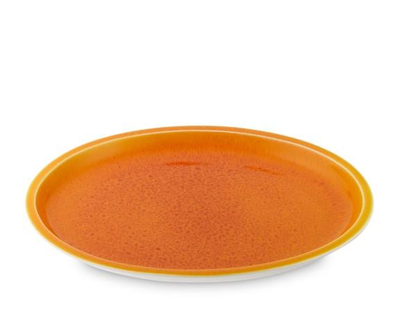 Jars Cantine Oval Platter, Orange