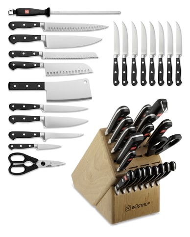Wüsthof Classic 20-Piece Knife Block Set