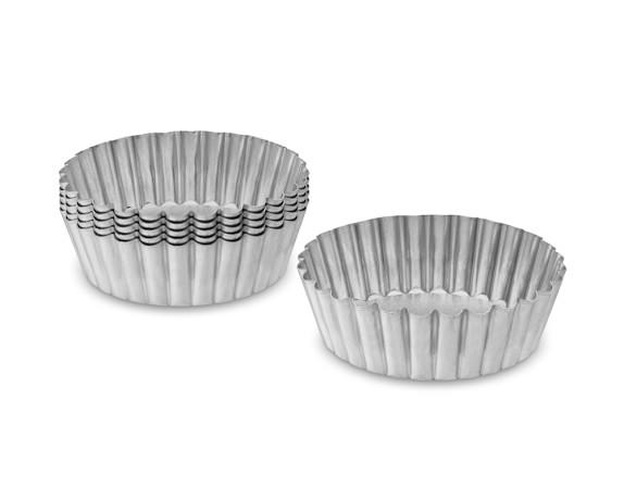 Gobel Traditional Finish Mini Round Tart Pans, 4