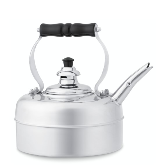 Simplex Traditional Tea Kettle, Chrome