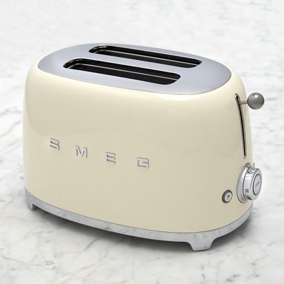 smeg 2 slice toaster williams sonoma. Black Bedroom Furniture Sets. Home Design Ideas