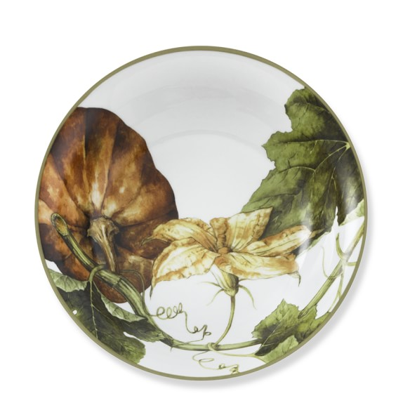 Botanical Pumpkin Individual Bowls, Set of 4