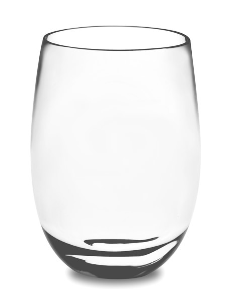 DuraClear® Osteria Stemless Red Wineglass, Set of 6