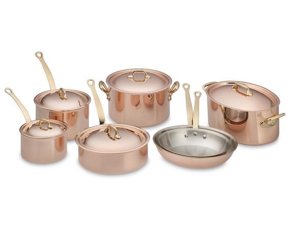 Mauviel Copper 12-Piece Set