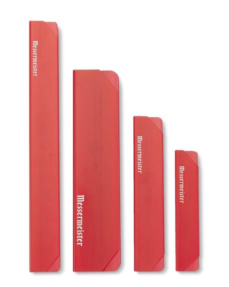 Messermeister Knife Blade Guards, Set of 4, Red