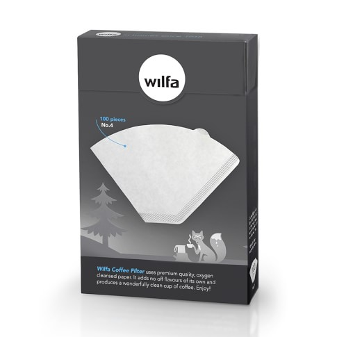 Wilfa Paper Filters, Set of 100