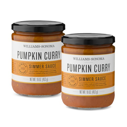 Williams-Sonoma Simmering Sauce, Pumpkin Curry