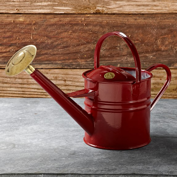 Haws Traditional Watering Can, Red