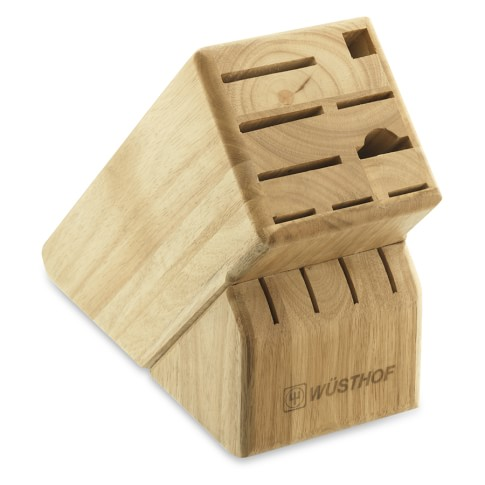 Wüsthof 13-Slot Knife Block, Natural
