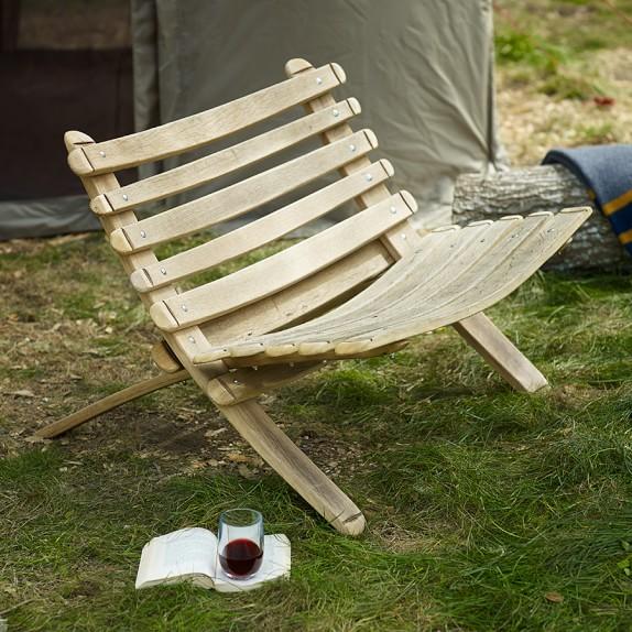 Reclaimed Wine Barrel Wood Bench