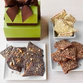 Almond Toffee with Crushed Nuts