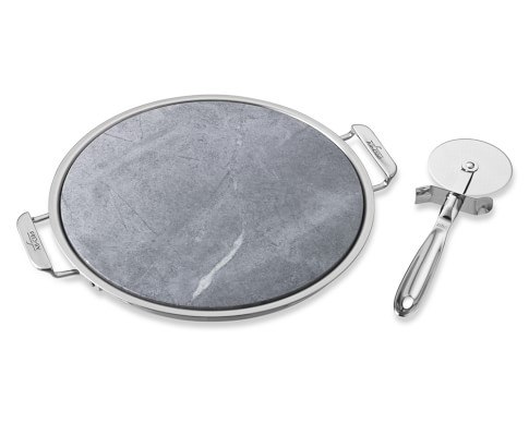 All-Clad Pizza Stone & Cutter Set
