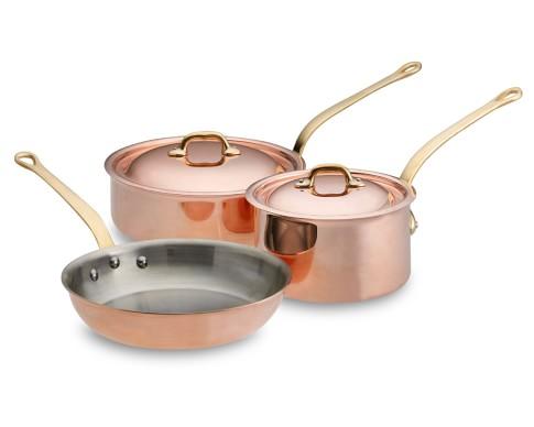 Mauviel Copper 5-Piece Set