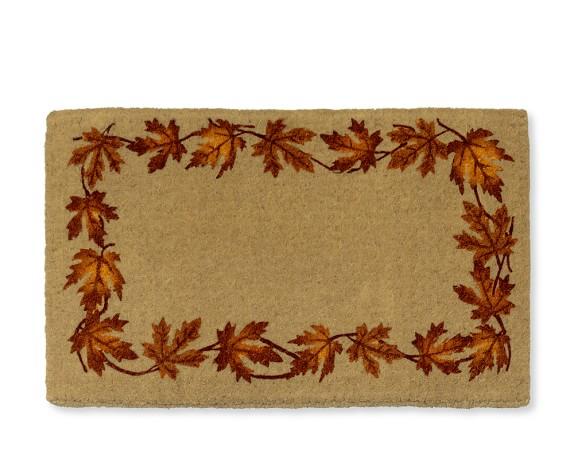 Plain Leaf Coir Doormat, 22