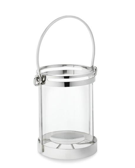 Nickel-Trimmed Lantern, Small