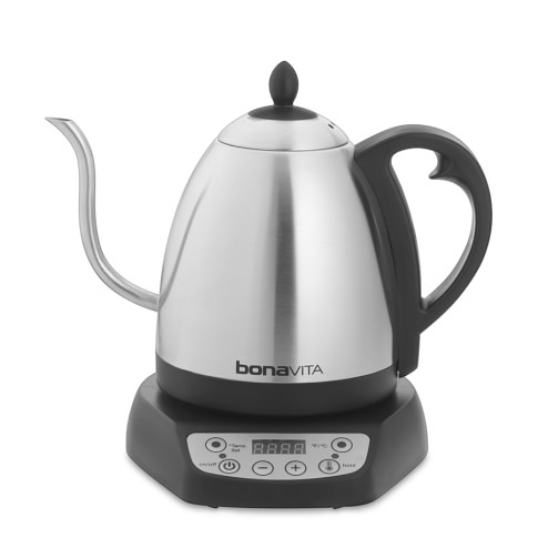 Bonavita Gooseneck Variable Temperature Electric Tea & Coffee Kettle