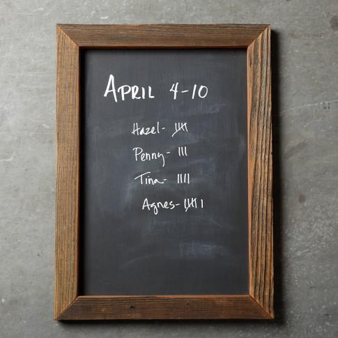 Reclaimed Artisan Chalkboard