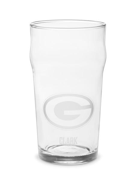 NFL Imperial Pint Beer Glasses, Set of 6