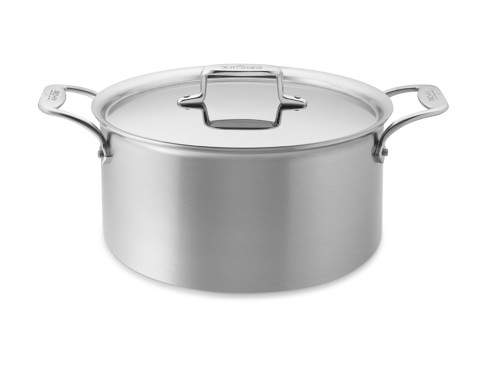 All-Clad d5 Brushed Stainless-Steel Stockpot, 8-Qt.