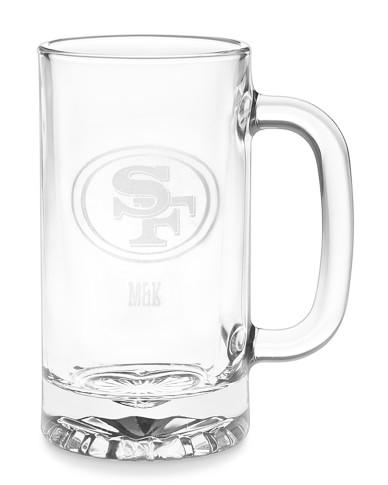 NFL Beer Mugs, Set of 4