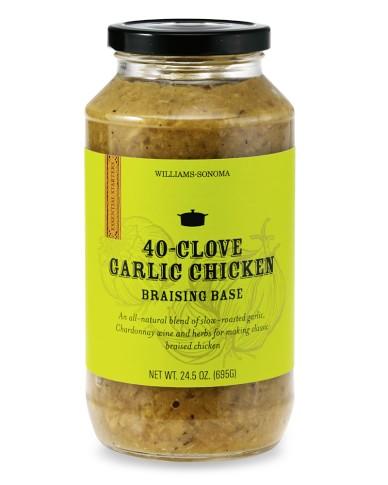 Williams-Sonoma Braising Sauce, 40-Clove Garlic Chicken