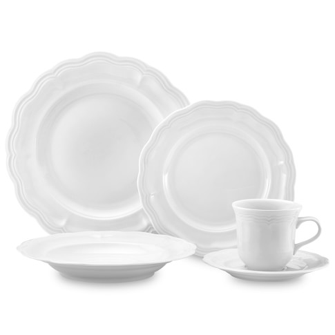 Pillivuyt Queen Anne 5-Piece Place Setting