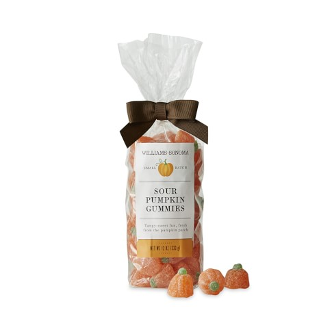 Williams-Sonoma Sour Pumpkin Gummies