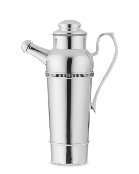 Presidio Silver Plated Cocktail Shaker