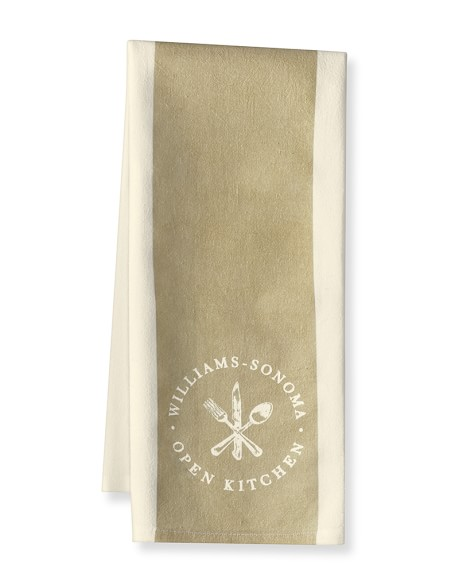 Williams-Sonoma Open Kitchen Striped Towel, Khaki