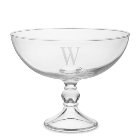 Monogrammed Fruit Bowl, Single-Initial