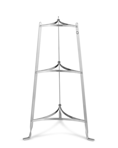 Enclume Cookware Stand , 3-Tier, Stainless-Steel