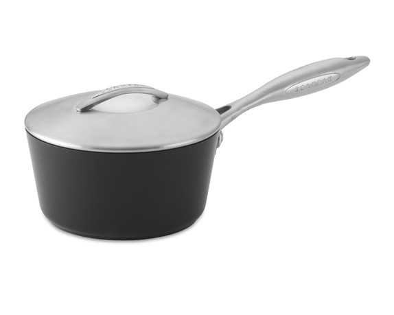 Scanpan Professional Nonstick Saucepan with Lid, 1-Qt.