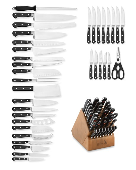 Wüsthof Classic 36-Piece Knife Block Set