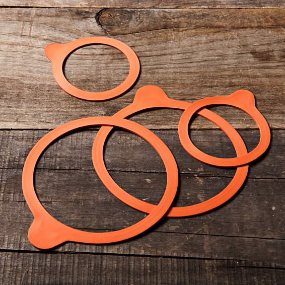 Weck Replacement Rubber Ring, Small, Set of 4