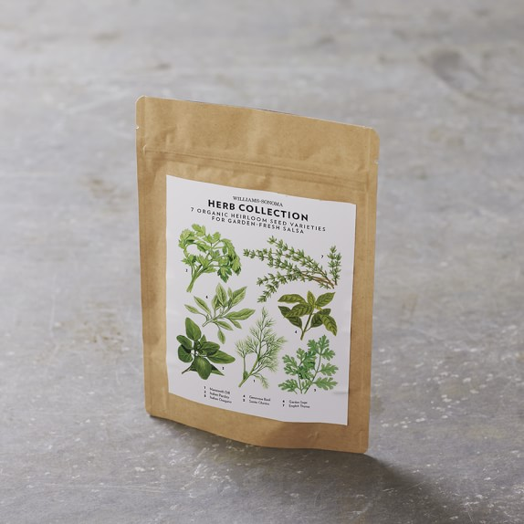 Living Seed Herb Collection, Set of 7