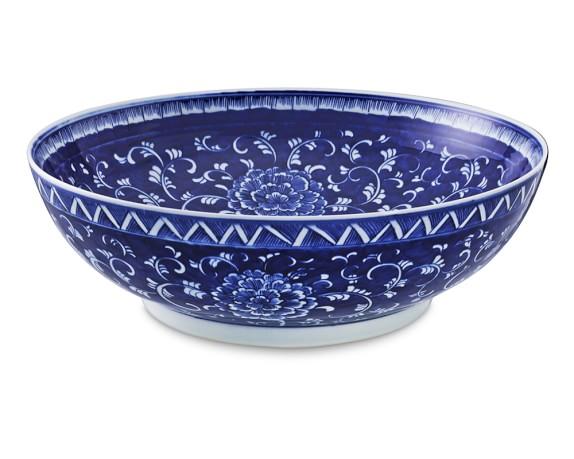 Chinoiserie Ceramic Bowl