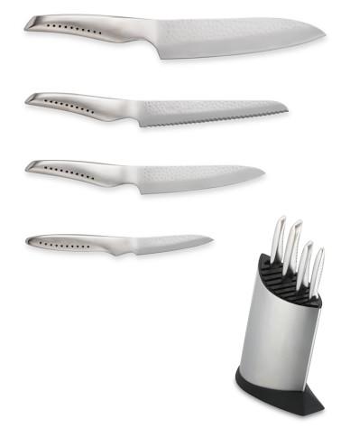 Global Sai 5-Piece Knife Block Set