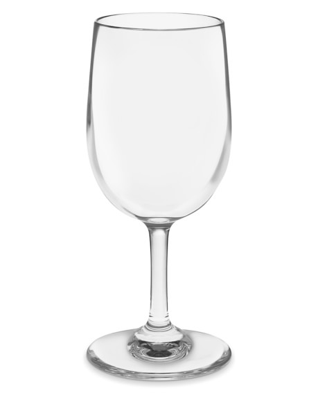 DuraClear® White Wineglass, Set of 6