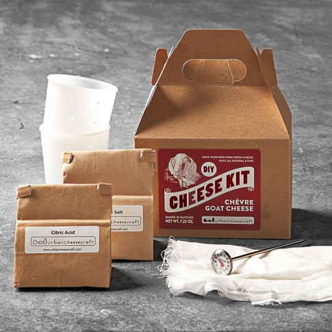 DIY Cheese-Making Kit, Goat/Chevre