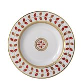 Bernardaud Constance Red Rim Soup
