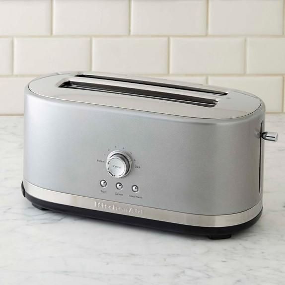 kitchenaid 4 slice long toaster williams sonoma. Black Bedroom Furniture Sets. Home Design Ideas