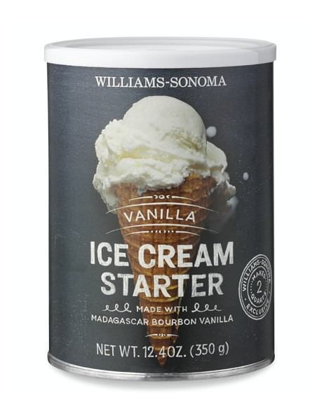 Williams-Sonoma Ice Cream Starter, Vanilla