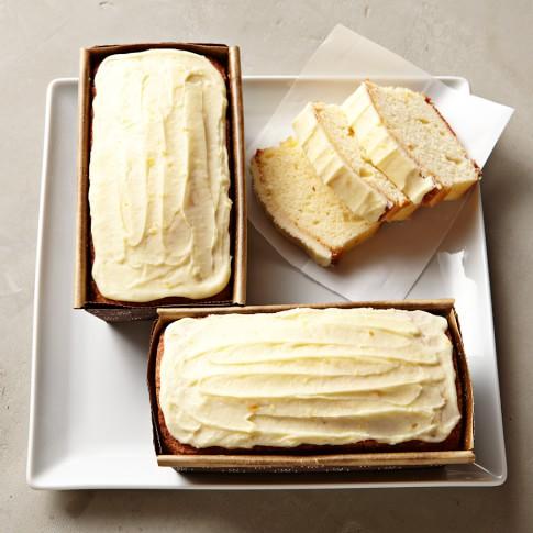 Orange Loaf Cakes, Set of 3